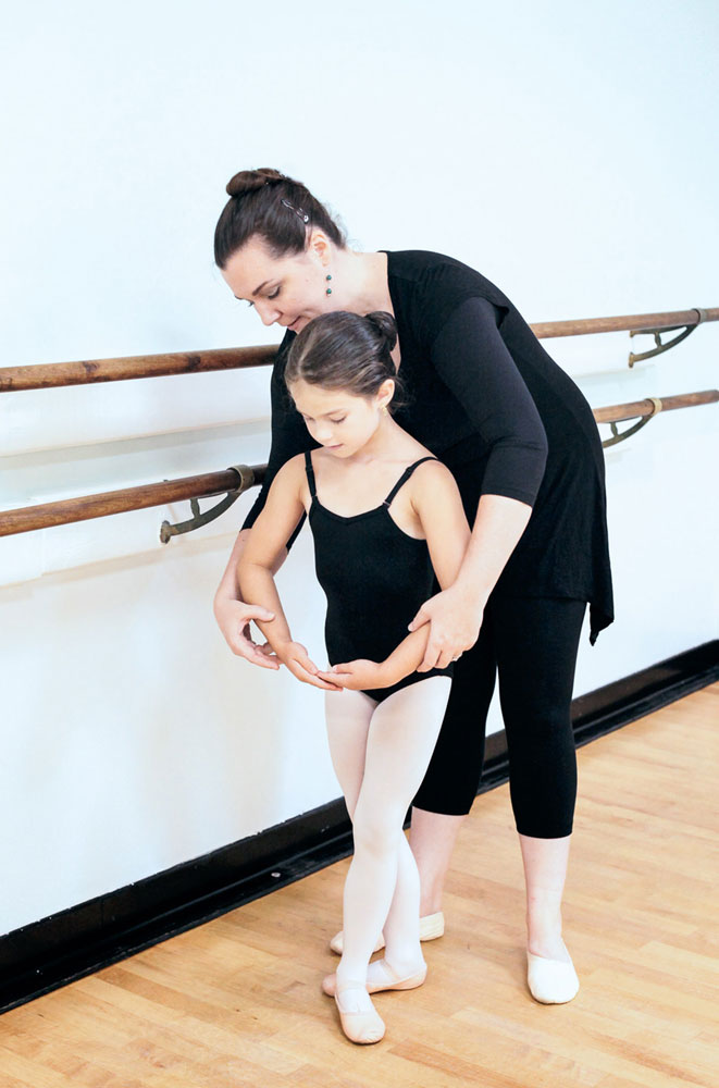 Personal ballet instruction