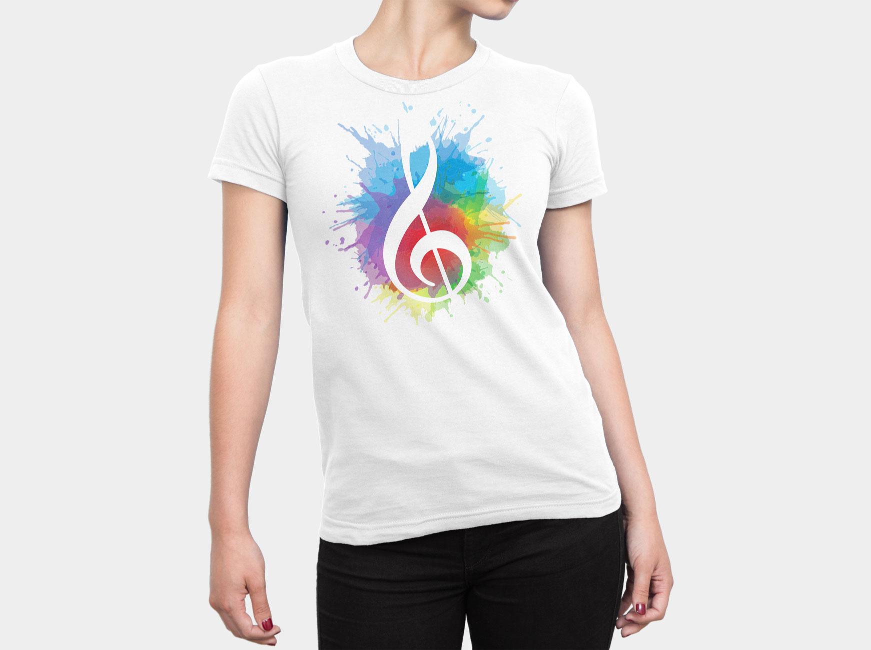 Logo on Tshirt