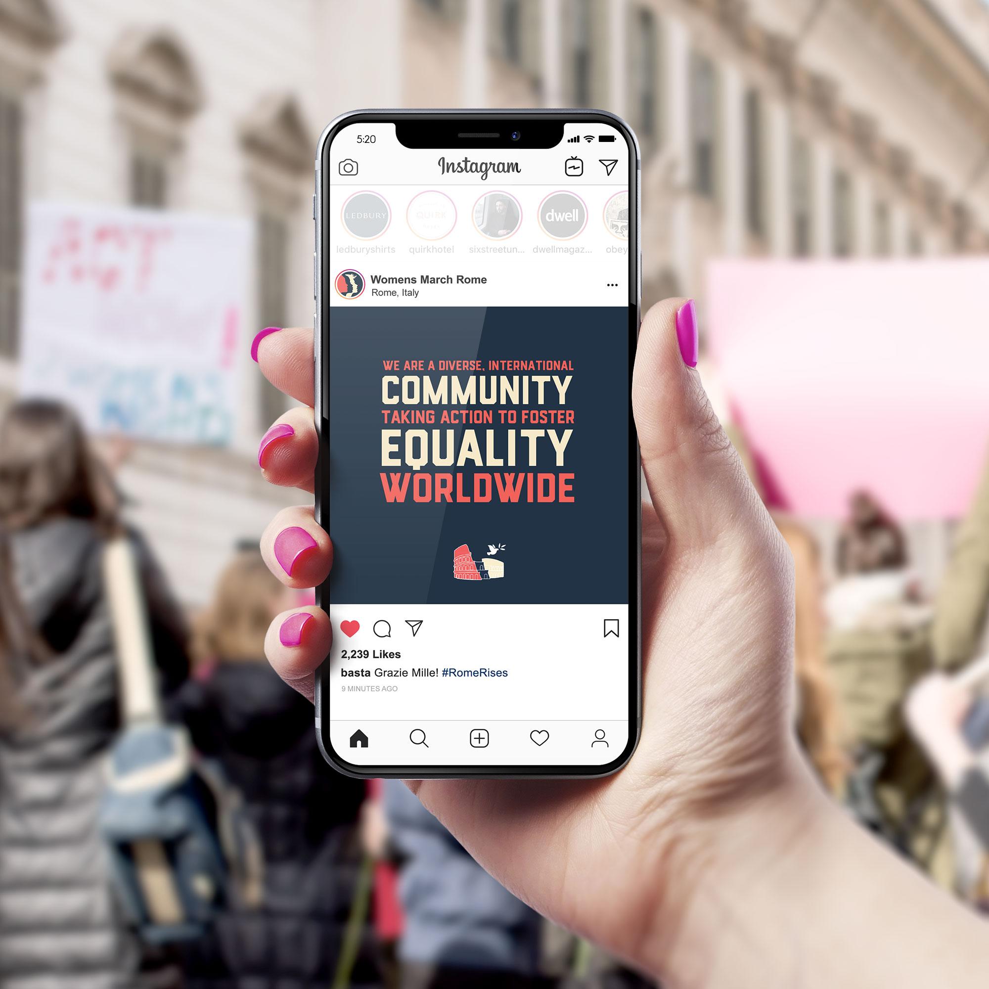 Instagram post - Equality Worldwide