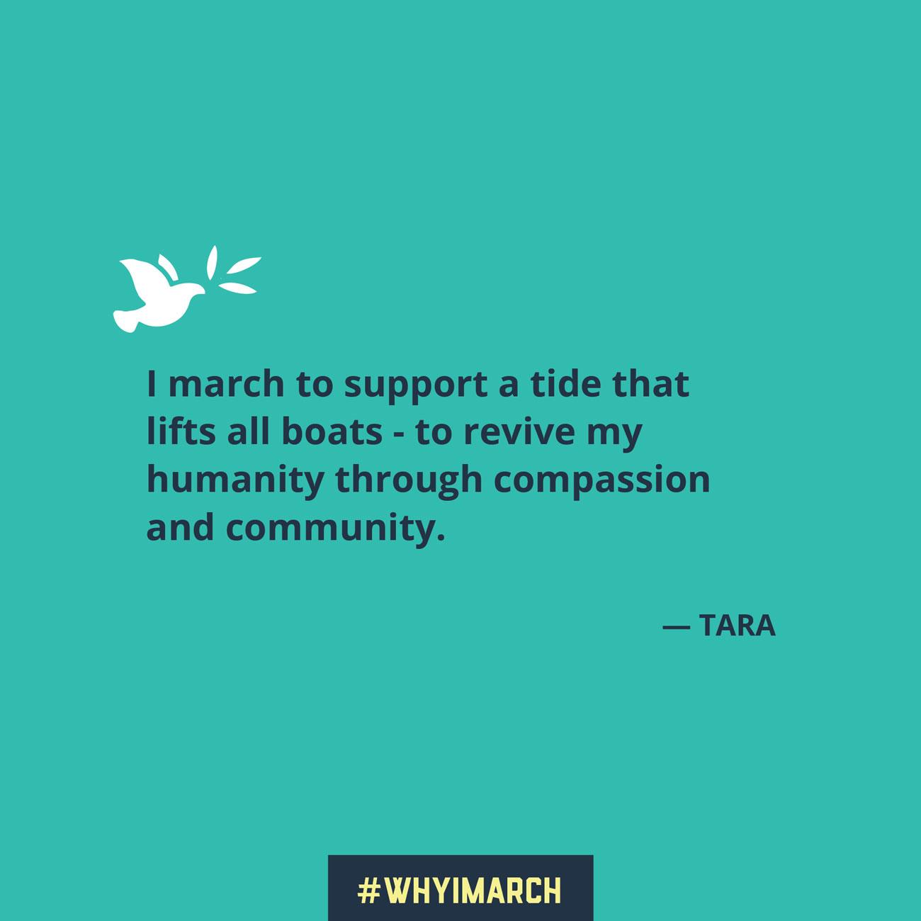 Social media quote - Tara