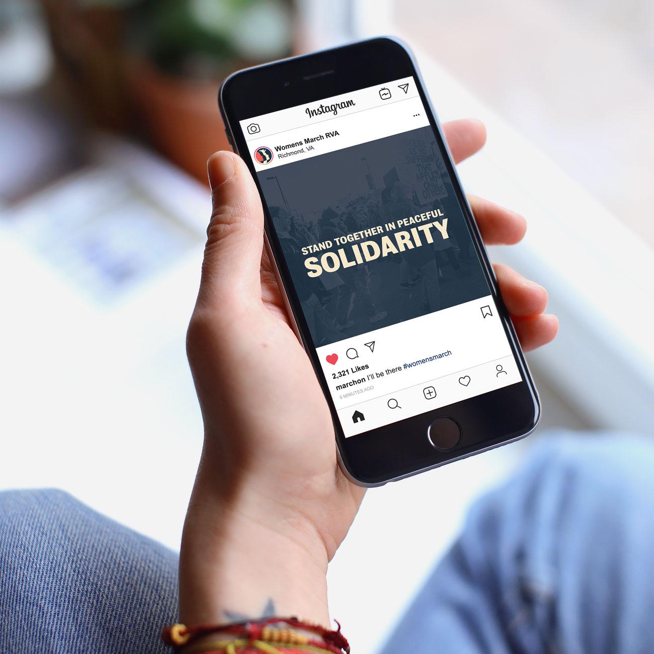 Instagram post - Solidarity