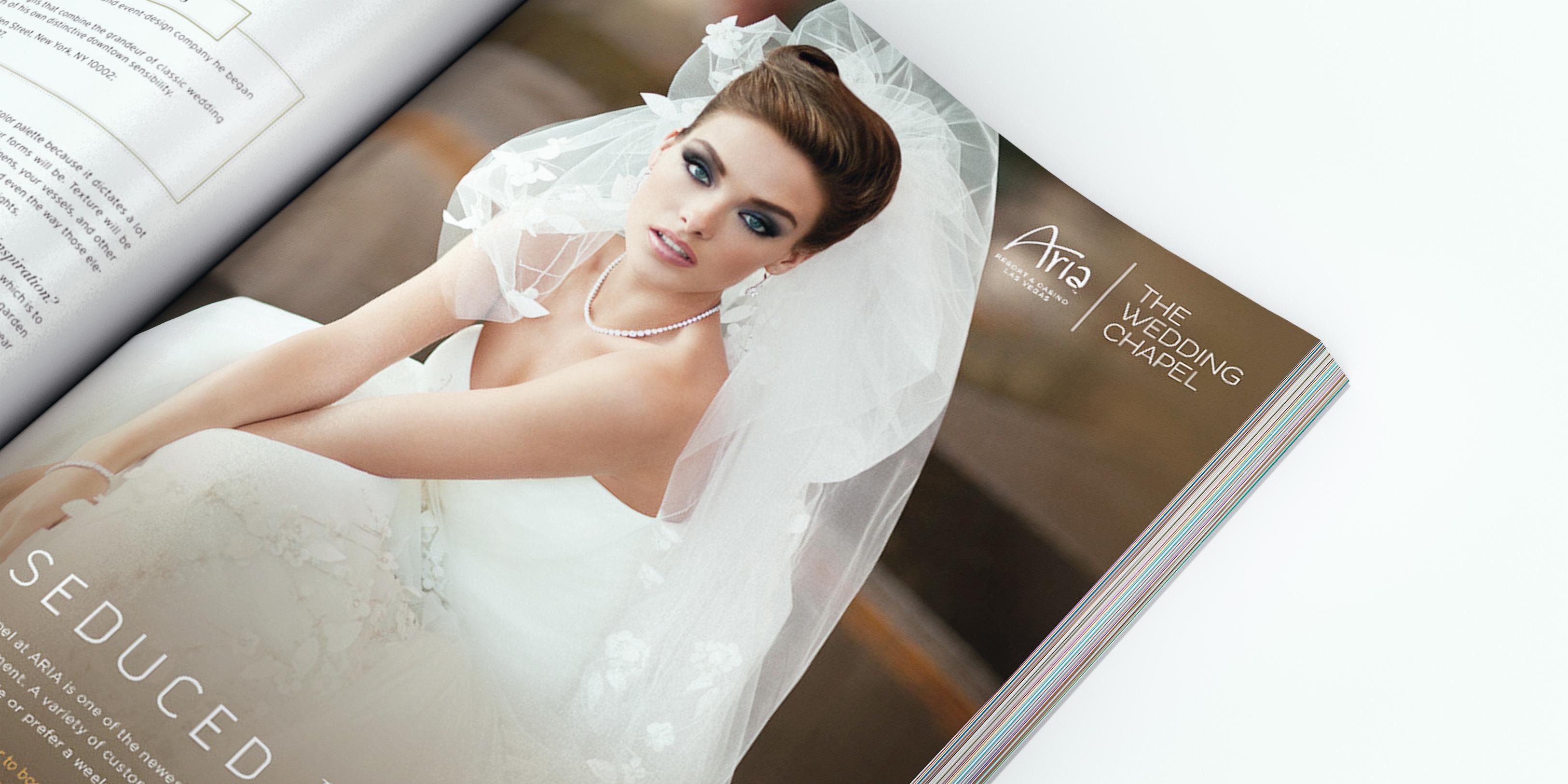 Wedding ad detail