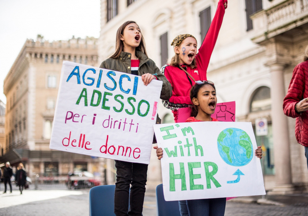 link to Womens March Rome