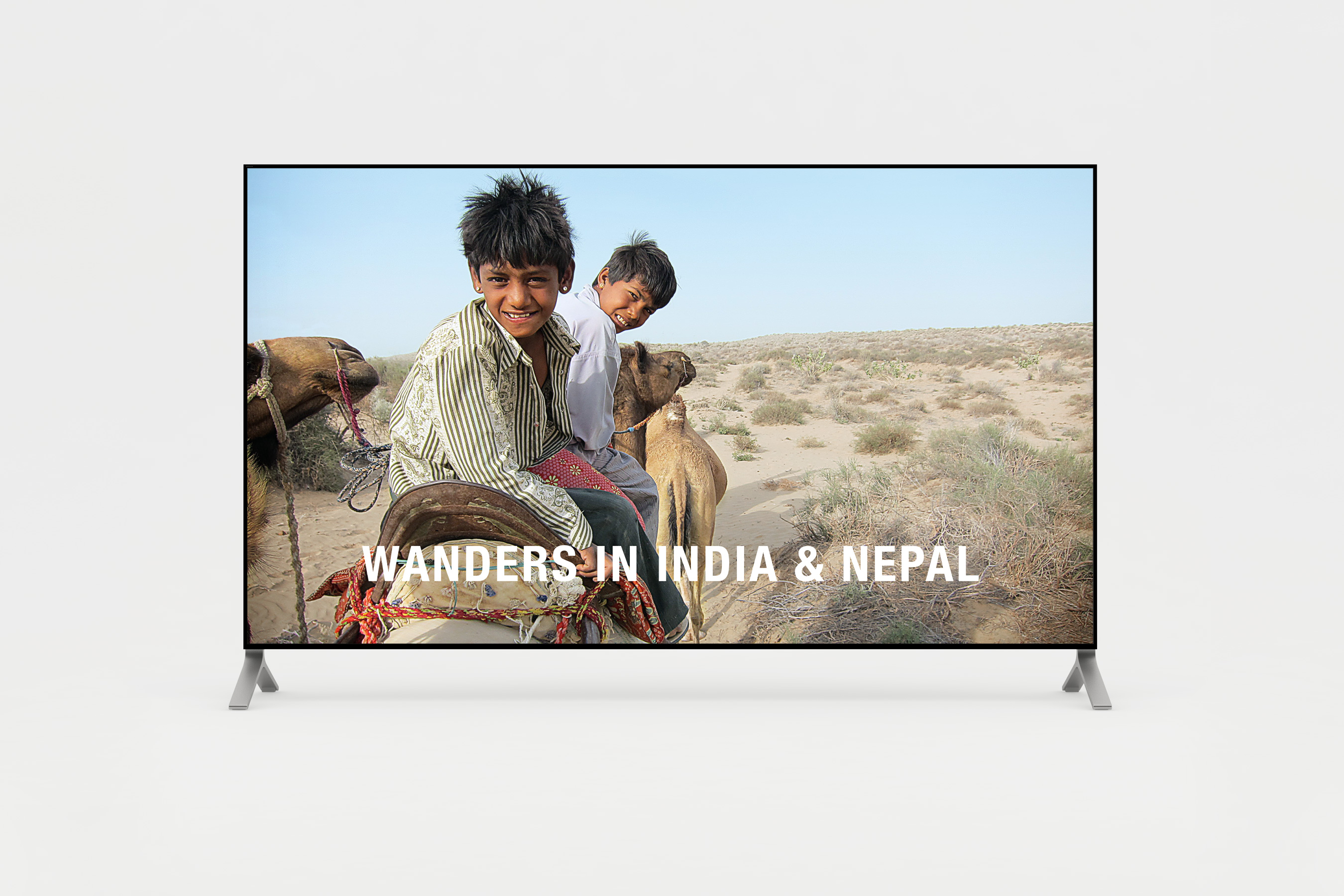 Short film of wanders in India and Nepal