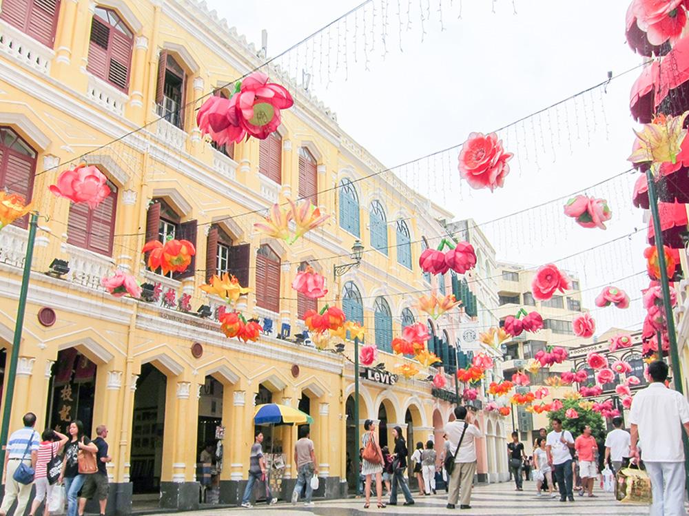 lanterns in Macau, China