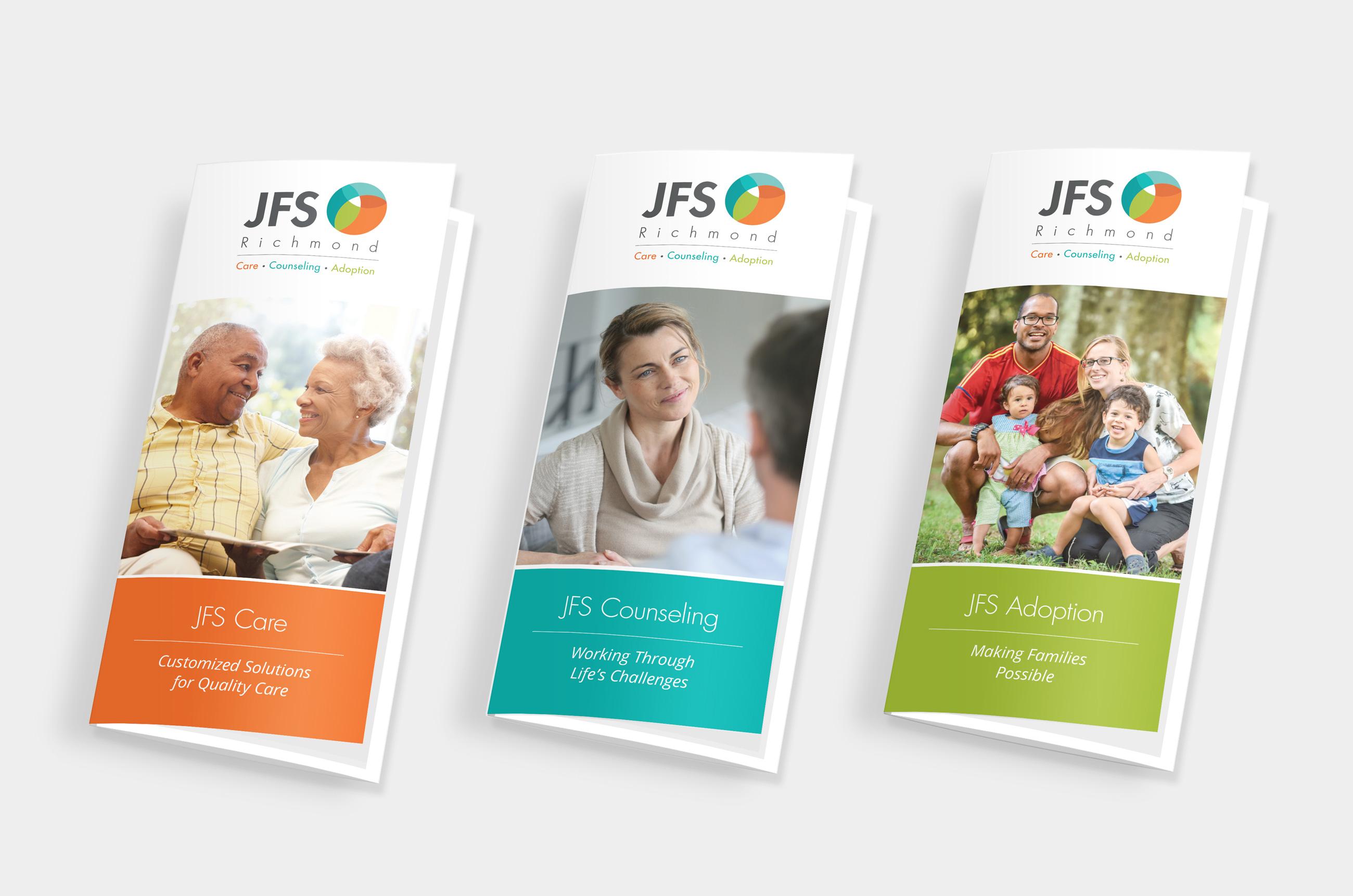 JFS Brochure trio