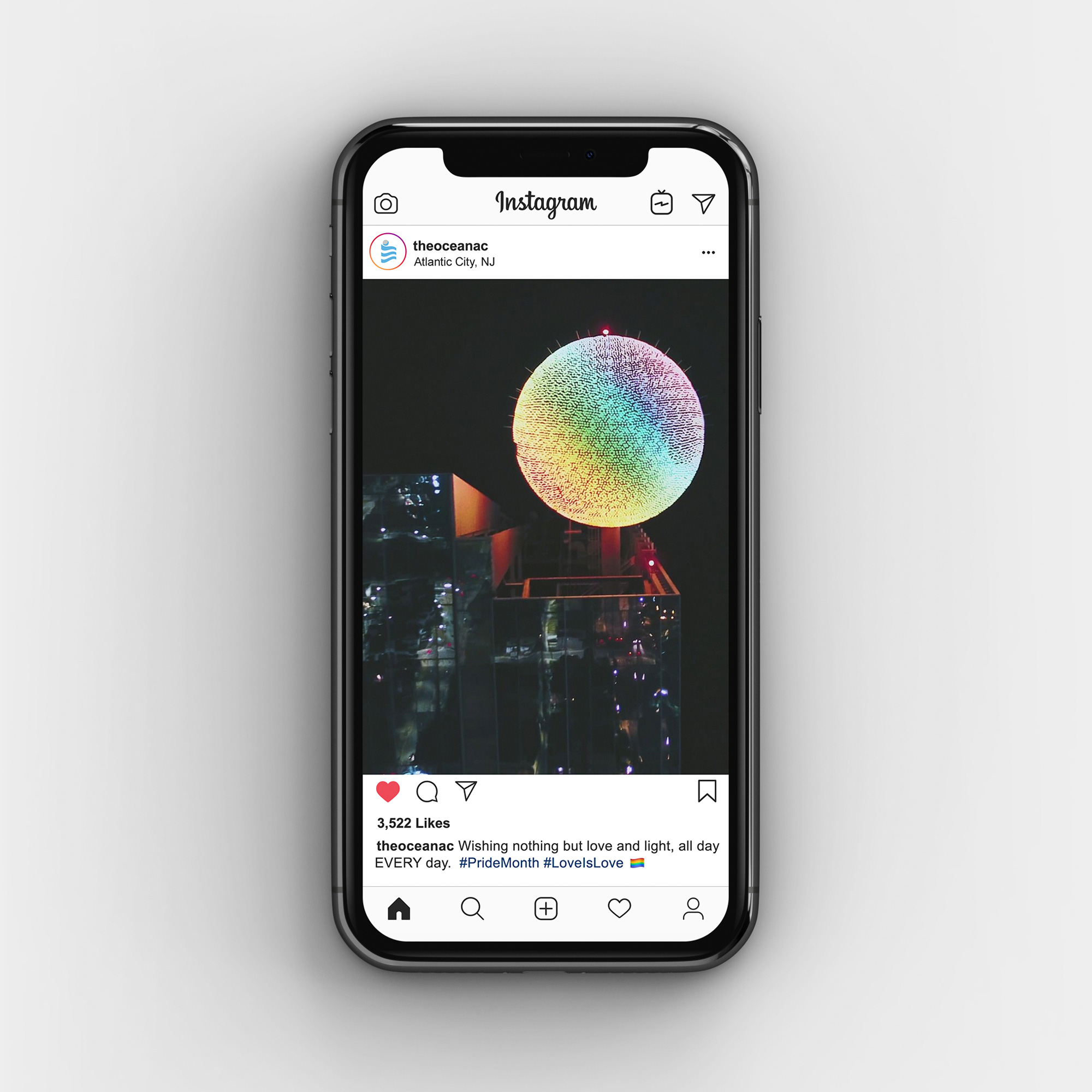 Pride Month instagram post