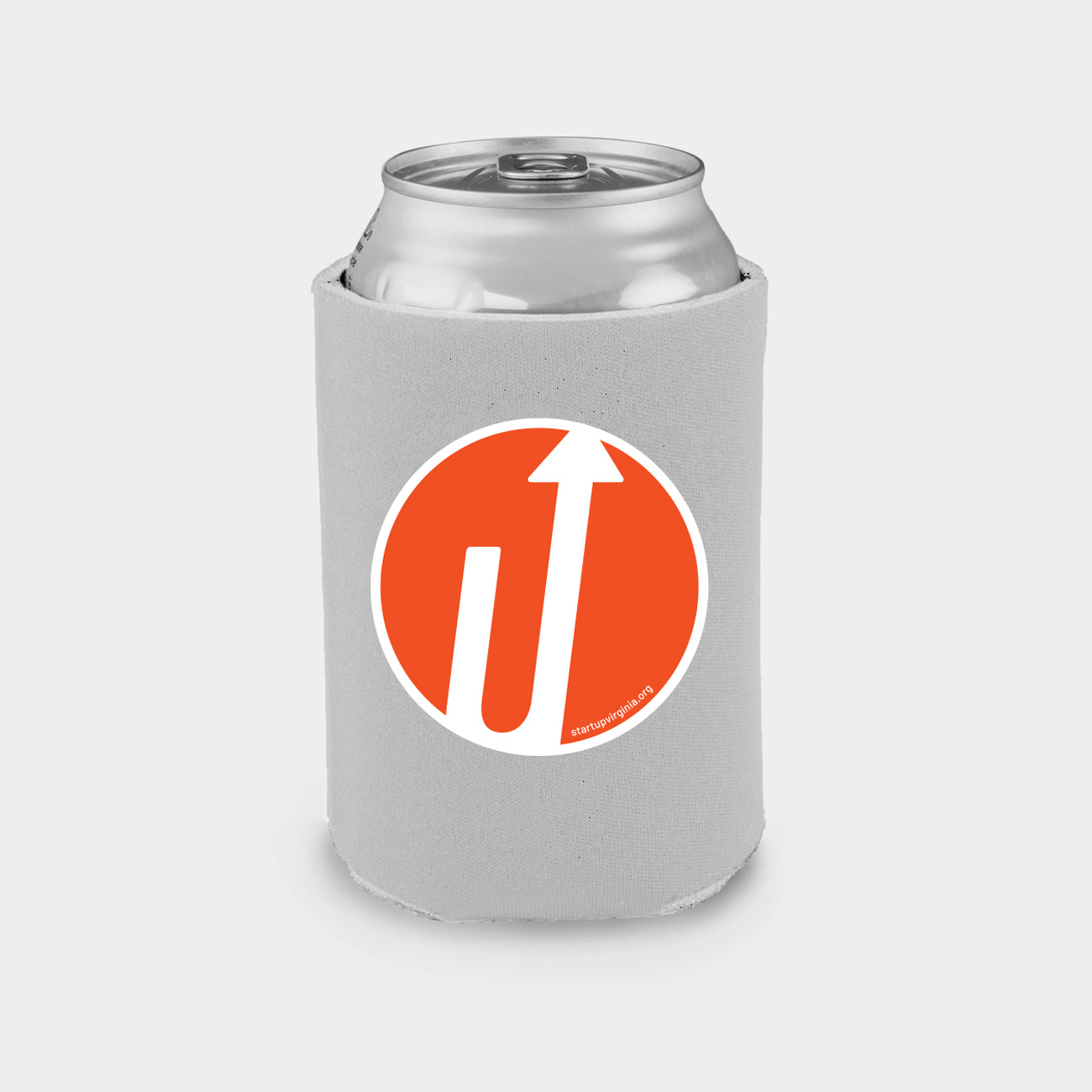 Beer koozie with logo