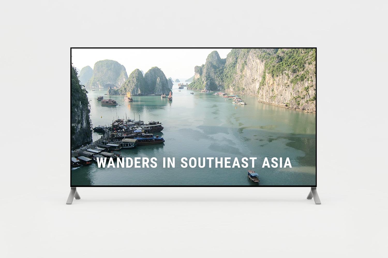 Short film of wanders in Southeast Asia