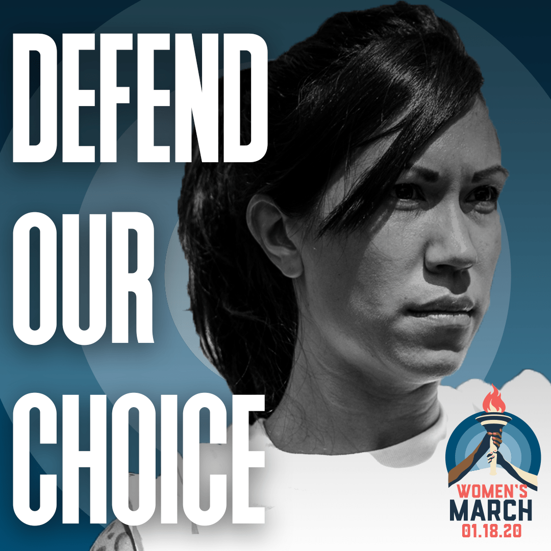 Social media graphic - Defend Our Choice