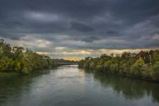 Tom-Goldberg Danube-Sunset