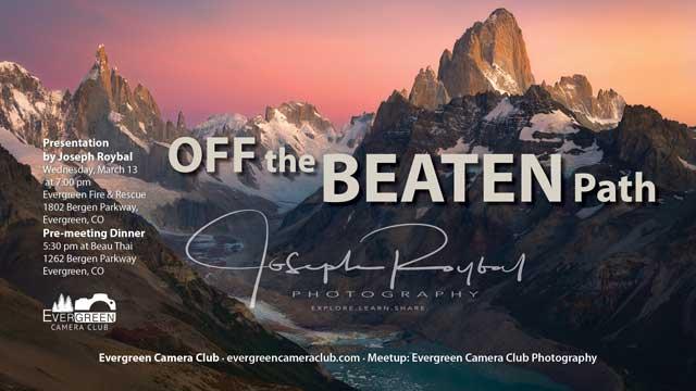 Joseph Roybal: Off the Beaten Path
