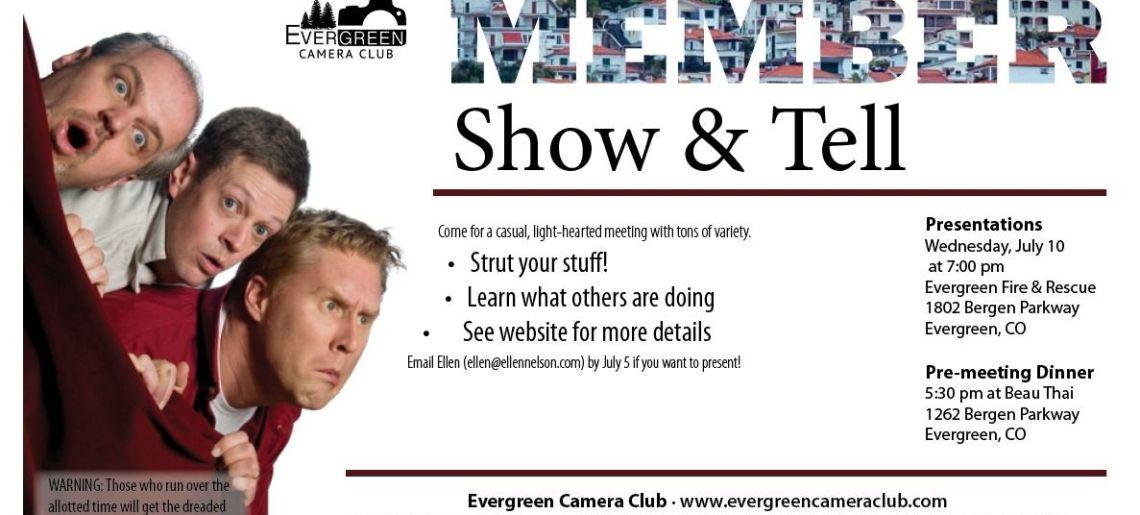 Member Show & Tell
