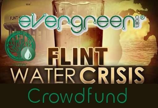 EverGreenCoin Flint Water Crisis Crowdfund