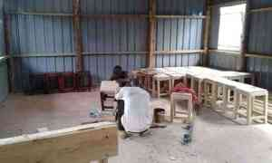 Kakuma Desk Construction