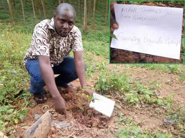 Greening Uganda Thanks EverGreenCoin