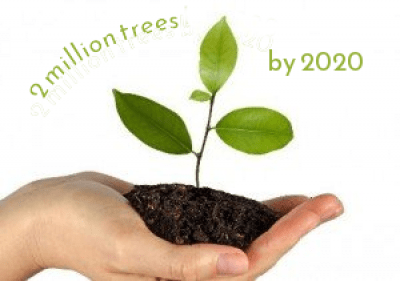 2 million tress by 2020