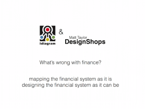 idiagramming the financial system