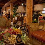 Mountain Home Design Center - showroom with lamps accessories and couch