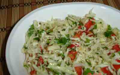 Cabbage salad   how to make cabbage salad