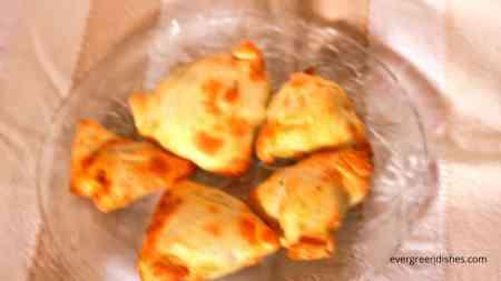 samosas in air fryer