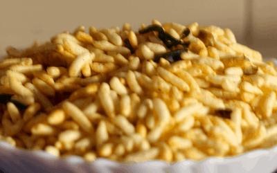 Roasted murmura/ dry snacks