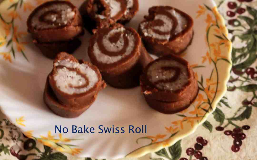 No Bake Swiss Roll