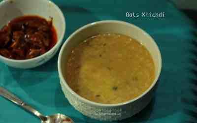 Oats Khichdi / healthy eating