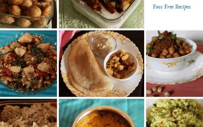 Fuss free recipes