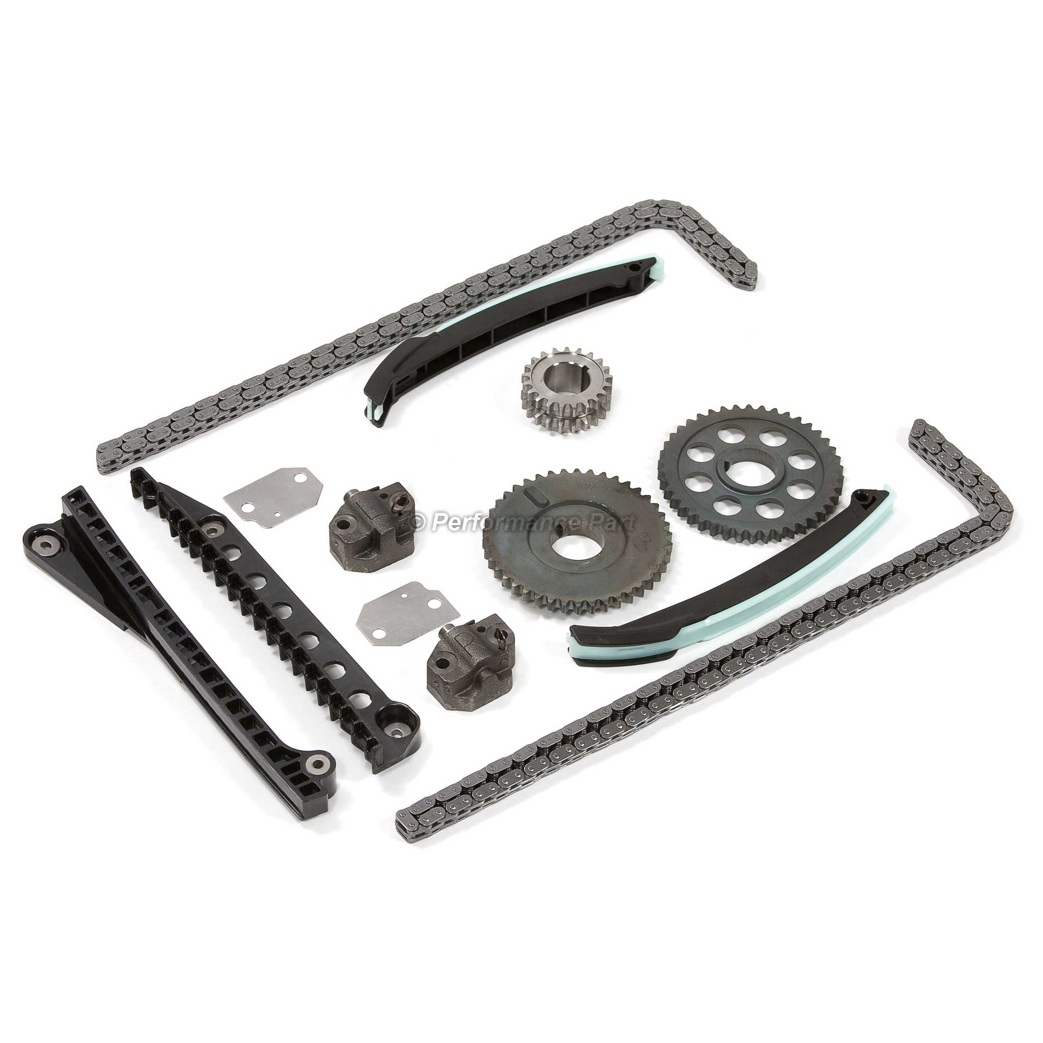 02 11 Ford Truck Lincoln 5 4l Timing Chain Kit V8 330 W
