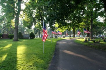 Parade of Flags on 4th of July