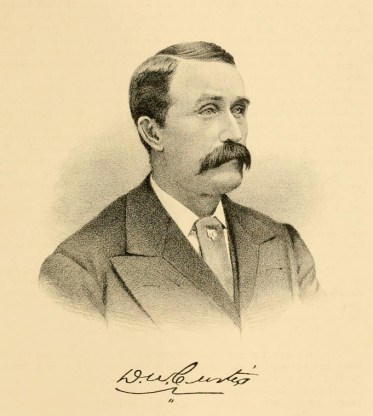 sketch of D. W. Curtis