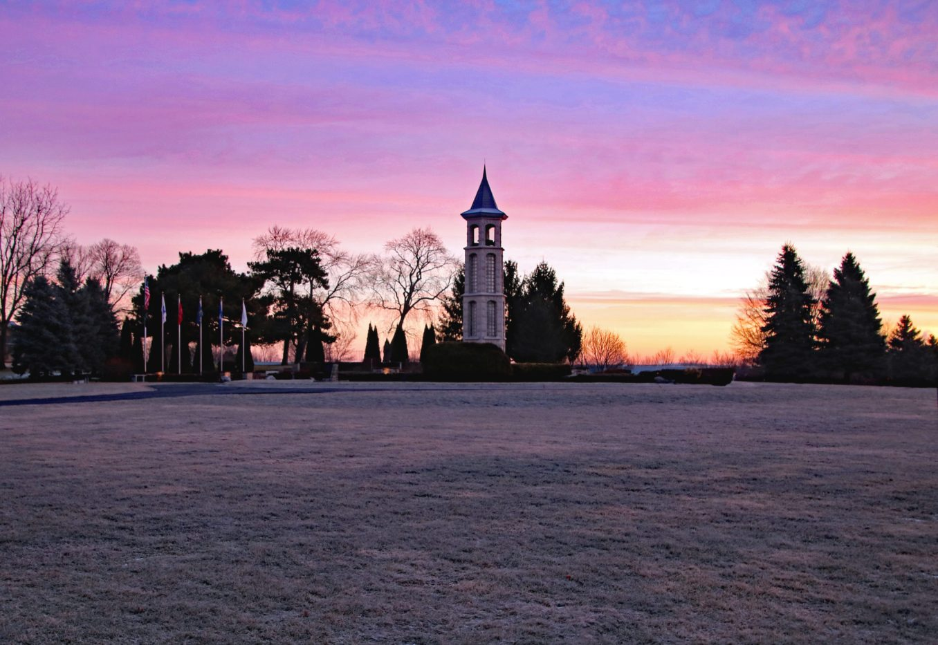 Carillon Bell Tower at sunrise