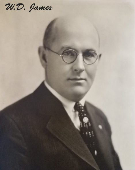 William D. James