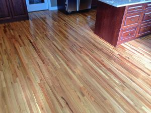 Oak hardwood floor refinish
