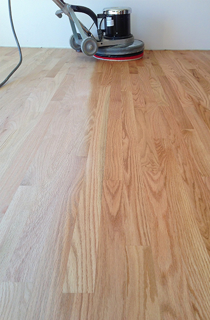 there are many options available when renishing your hardwood oor so contact evergreen hardwood floors and we can answer any questions you may have