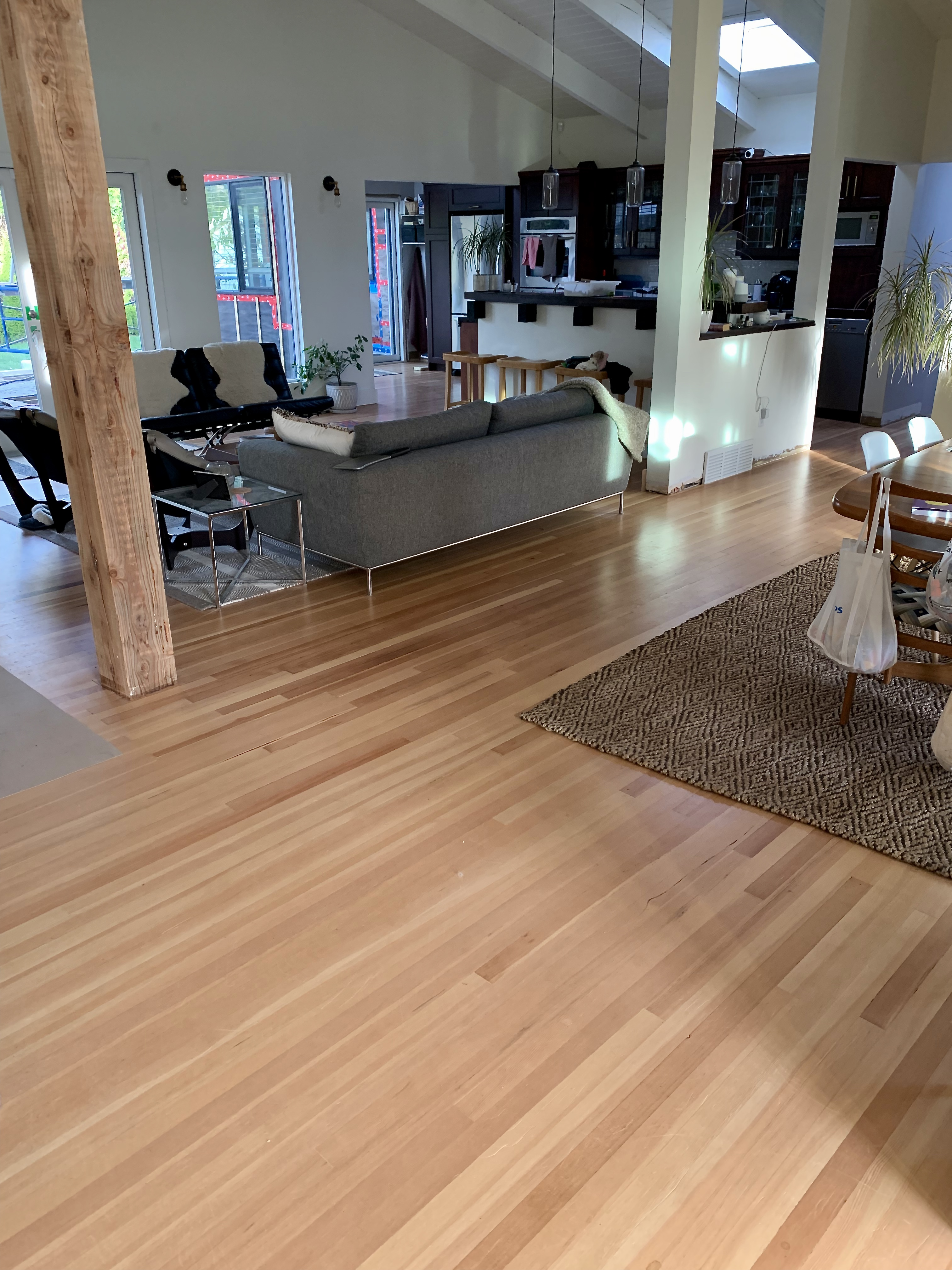 Fir hardwood flooring
