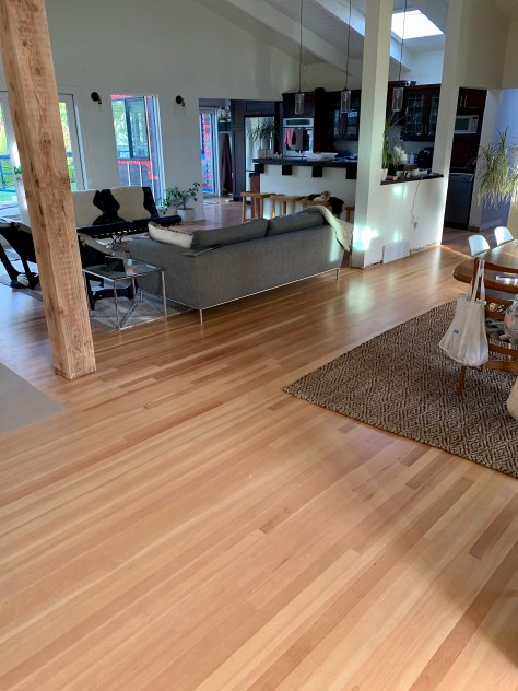 Fir hardwood floor