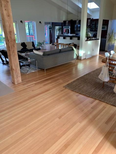 Fir hardwood floor