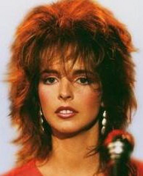 80er Frisuren Frau