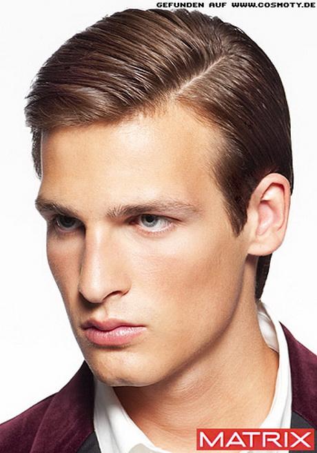 Trendy hair styling for men with undercut 2016 infographic. Männerfrisuren seitenscheitel