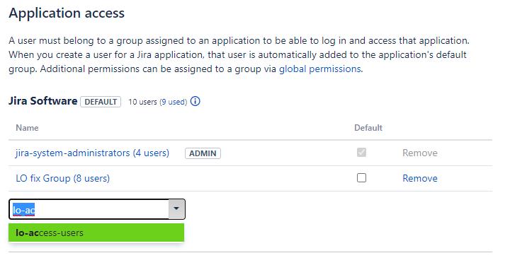 Screenshot of License Optimizer