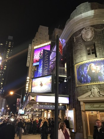 broadway theatre theater play anastasia musical