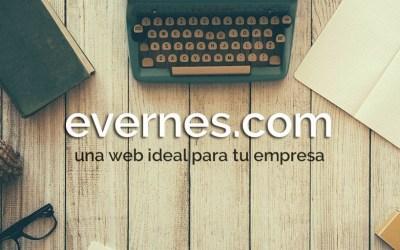 Una web ideal para tu empresa – evernes.com