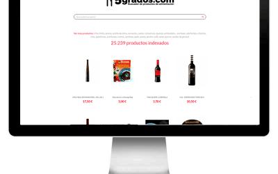 5grados.com – Agregador de productos de alimentación.