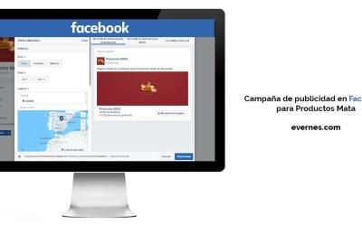 Campaña de publicidad en Facebook para Productos Mata #publicidad