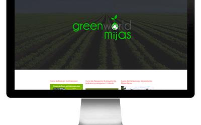 Proyecto realizado por evernes.com: greenworldmijas.com