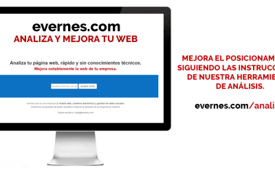 Analiza y mejora tu página web. https://evernes.com/analisis