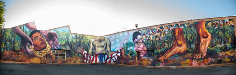 essay on the symbolism of the flag and its social consequences_rochester_ever_walltheraphy_2013