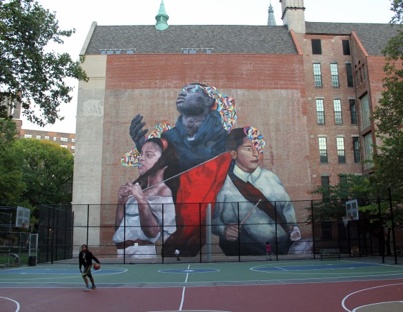 the second conquest_east harlem_NYC_monumentart_2015